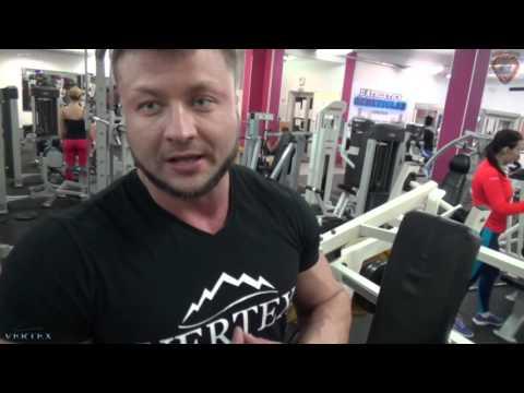 Павел Боёв и Сергей Болож - тренировка дельт. Vertex team