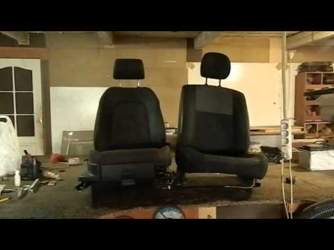 Замена сидений Renault Duster Часть 2
