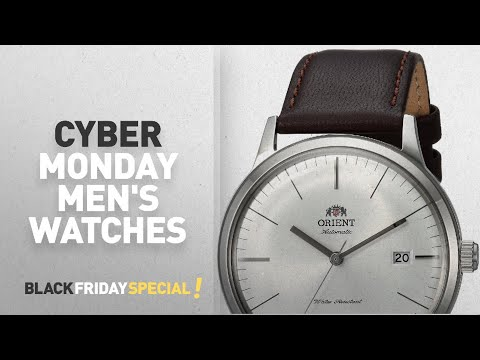 Cyber Monday Orient Watches : Orient Men's '2nd Gen. Bambino Ver. 3' Japanese Automatic Stainless