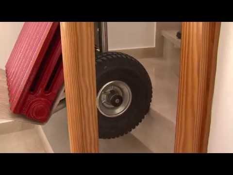 Trasportare i termosifoni: come salire le scale