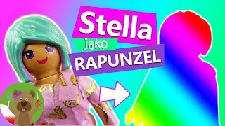 Stella jako Rapunzel | styliyacje Playmobil