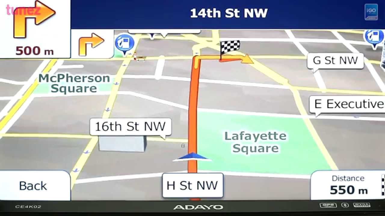 North America USA  Canada IGO Primo GPS Software With TomTom - Tomtom gps usa map download free