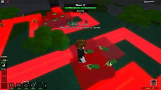 Roblox Tower Battles- How Long can You Survive With Sniper and Scout P.1