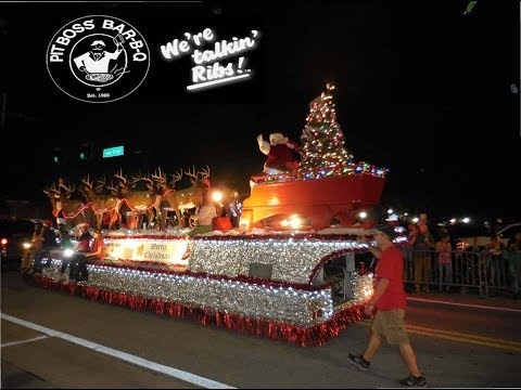 New Port Richey Holiday parade and downtown holiday shopping on Your New Port Richey Ep 10