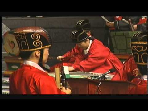 Munmyo Jeryeak (Confucian Shrine Music) of South Korea