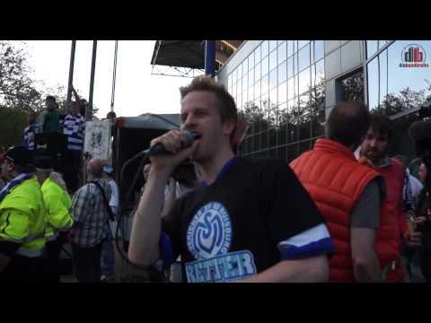 Die Bandbreite: Impressionen von der MSV-Fan-Demo / Dat is Duisburg live