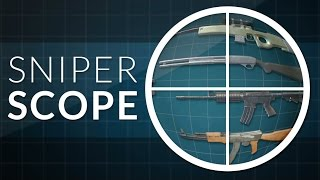 How to make a Sniper Scope Effect  Unity FPS Tutorial