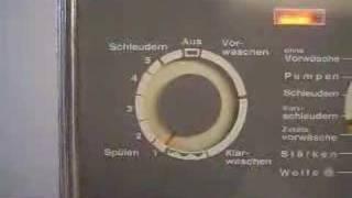 Miele De Luxe 421S Kompletter Waschgang