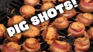 Smoked Pig Shots!