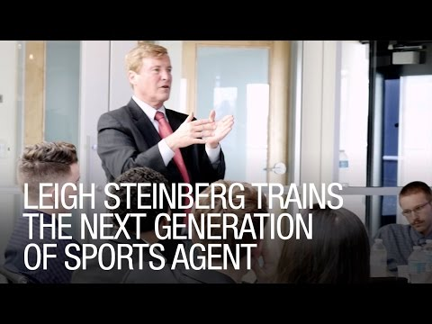 Leigh Steinberg Trains The Next Generation of Sports Agent