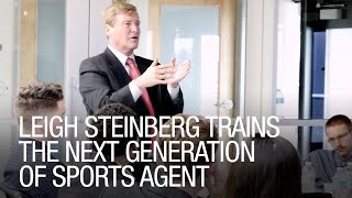 Video Leigh Steinberg Trains The Next Generation of Sports Agent download MP3, 3GP, MP4, WEBM, AVI, FLV Juni 2018
