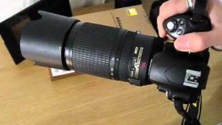 Nikon Nikkor 70-300mm VR Size Comparison