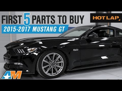 The First 5 Mustang Parts You Need To Buy For Your 2015-2017 Ford Mustang