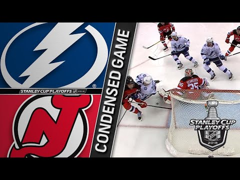 04/16/18 First Round, Gm3: Lightning @ Devils