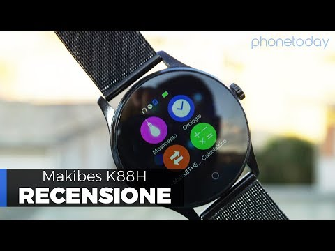 Repeat K88H Smart Watch how to connect phone and sync data