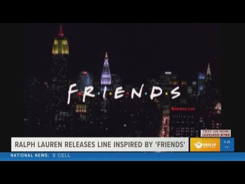 """None - Ralph Lauren Pays Tribute to """"Friends"""""""