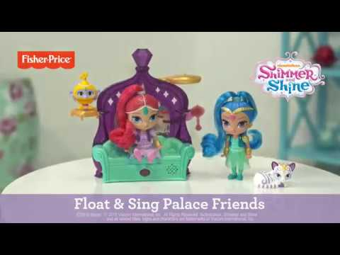 SHIMMER AND SHINE - DELUXE ΣΕΤ ΠΑΙΧΝΙΔΙΟΥ ΜΕ ΚΟΥΚΛΕΣ