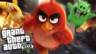 GTA 5 Mods - ANGRY BIRDS MOD (GTA 5 PC Mods Gameplay)