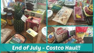 end of july costco haul