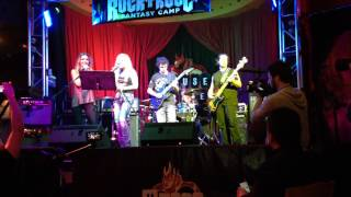 Performing with Lita Ford and Audrina Patridge 2014 At the House of Blues in Las Vegas