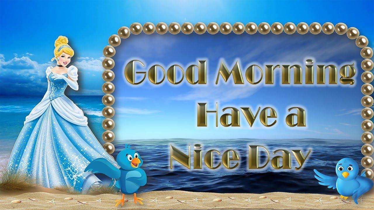 Beautiful Latest Cute Animated Good Morning Greetings Ecard