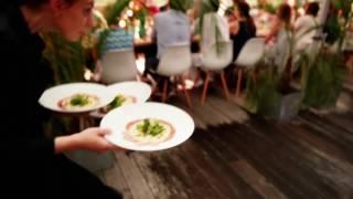 La Table Perlée de Bru: un dîner dans la jungle sur un toit en plein Bruxelles