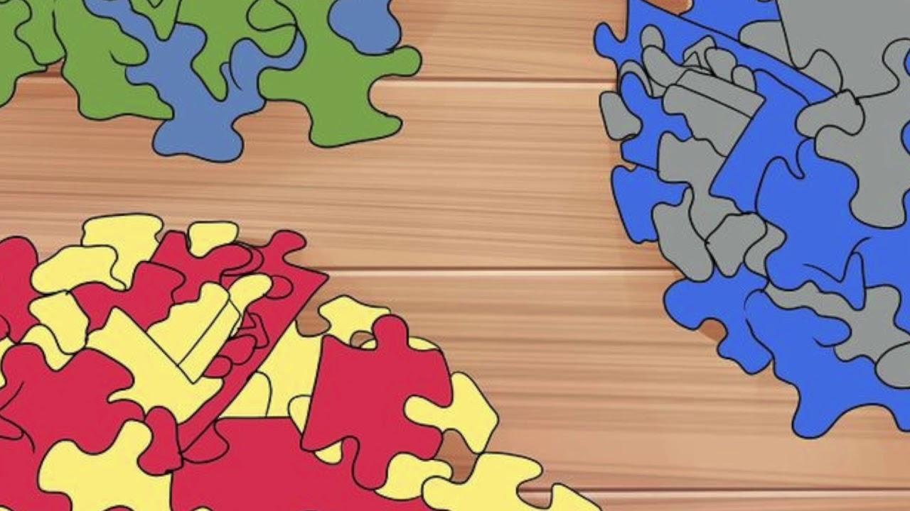Jugando a aprender. Como acompañar a un niño a armar un rompecabezas -  YouTube