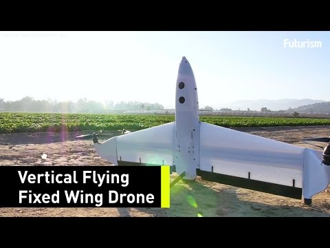 This Drone Has The Range, Reliability and Efficiency of Fixed-Wing Aircraft