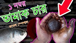 Fishing Chum Tamak Char Tamuk Char For Catla Siamese Carp তামাক চার তামুক চার কাতল মাছের জন্য
