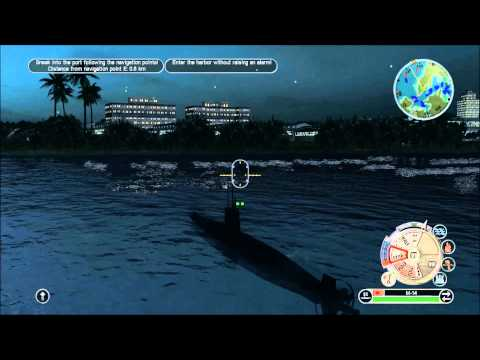 "Battlestations Pacific Japanese Walkthrough 10 ""Attack on Sydney Harbour"" Gold medal 1080p"