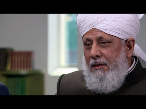 Leader of the Ahmadiyya Muslim Community