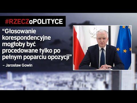 Gowin: Porozumienie Czeka Na Stanowisko Opozycji | #RZECZoPOLITYCE