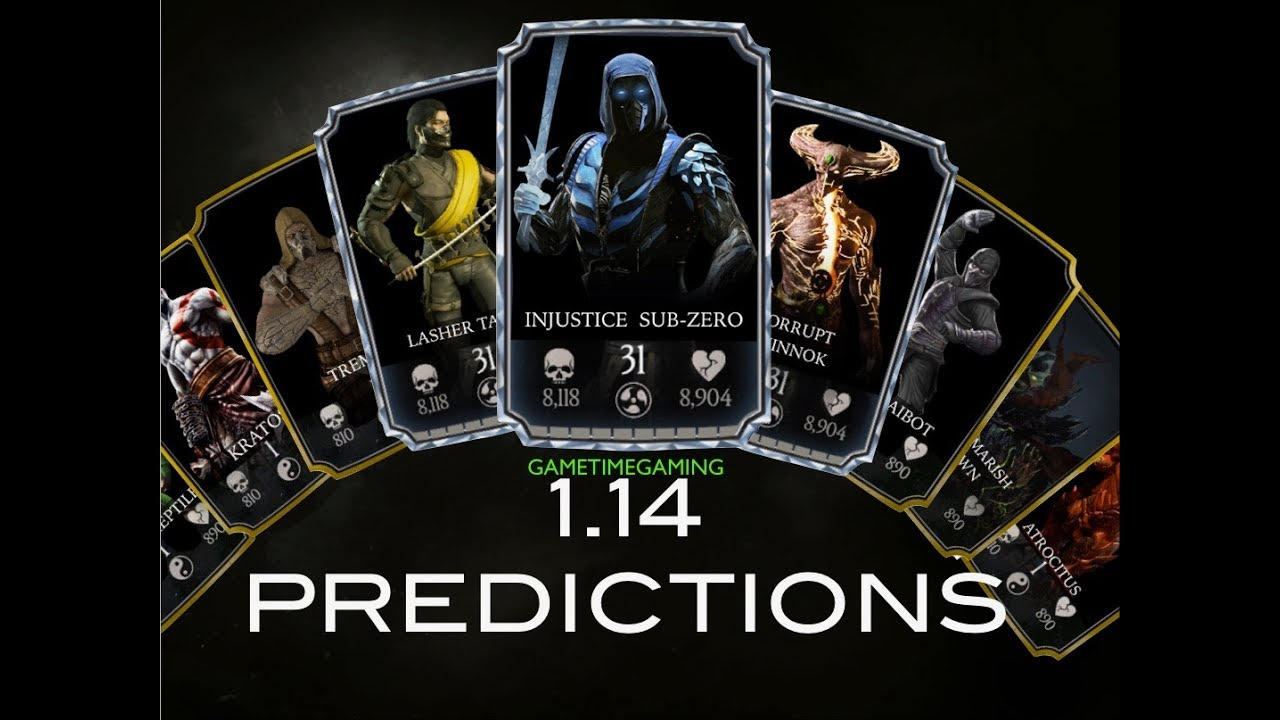 mkx mobile update new character predictions youtube. Black Bedroom Furniture Sets. Home Design Ideas