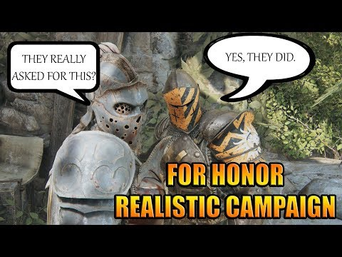 Let&39;s Chill  For Honor Campaign on Realistic - It was much harder in my memories