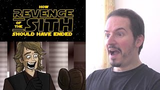 HOW STAR WARS REVENGE OF THE SITH SHOULD HAVE ENDED - REACTION & THOUGHTS