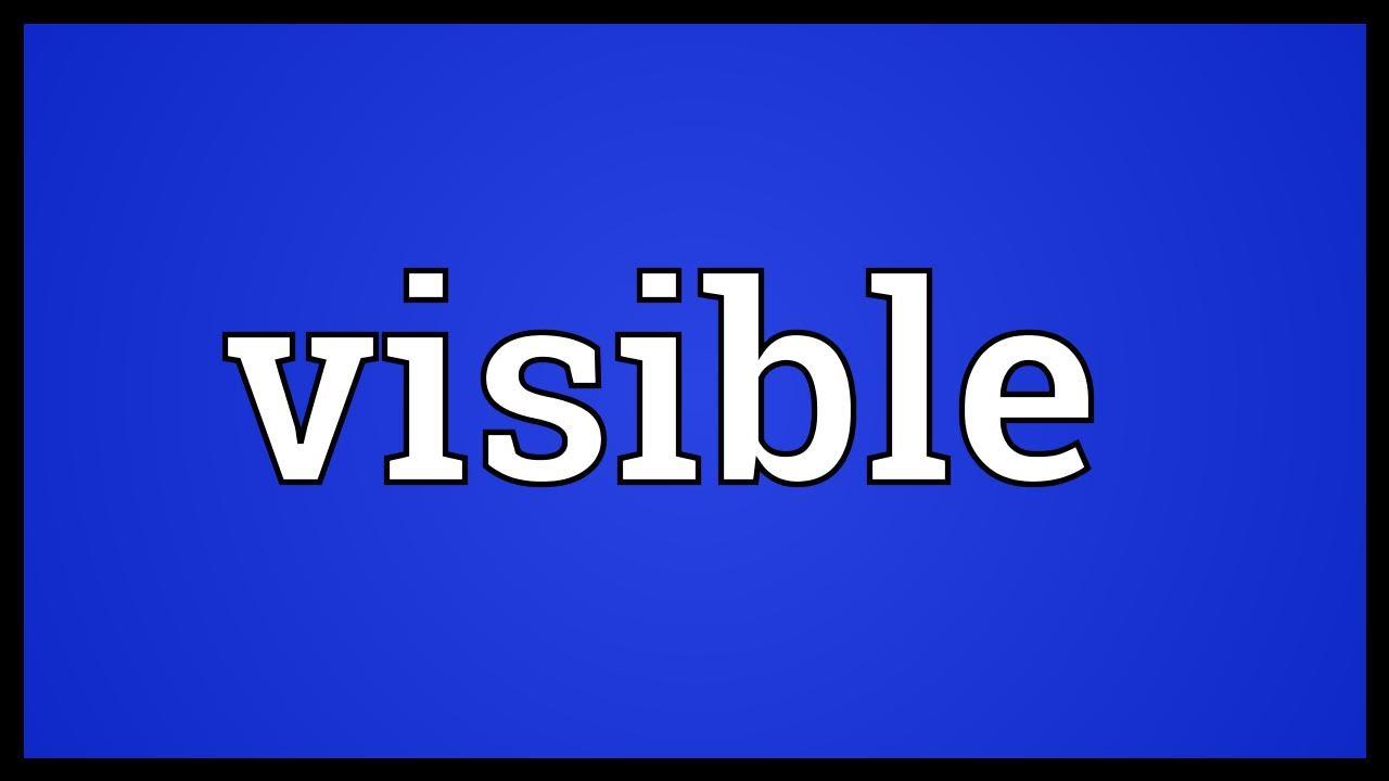 """Résultat de recherche d'images pour """"visible"""""""