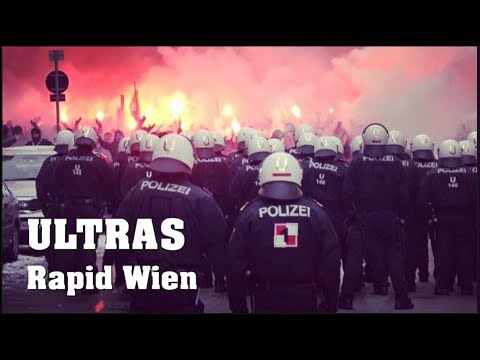 ULTRAS Rapid FANMARSCH in FAVORITEN  | 16.12.2018 Wiener DER
