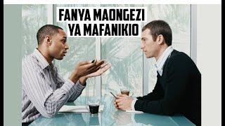 Jiufunze kuanzisha maongezi yatakayo kuletea mafanikio toka mwanzo ...