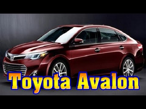 2018 toyota avalon-2018 toyota avalon hybrid-2018 toyota avalon limited-2018 toyota avalon touring