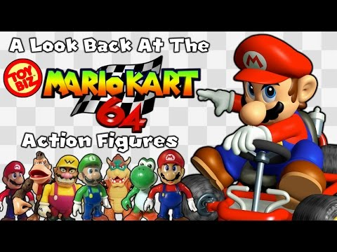 A Look Back At The Toybiz Mario Kart 64 Action Figures!