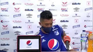 En vivo: Rueda de prensa de Millonarios tras el partido frente a América