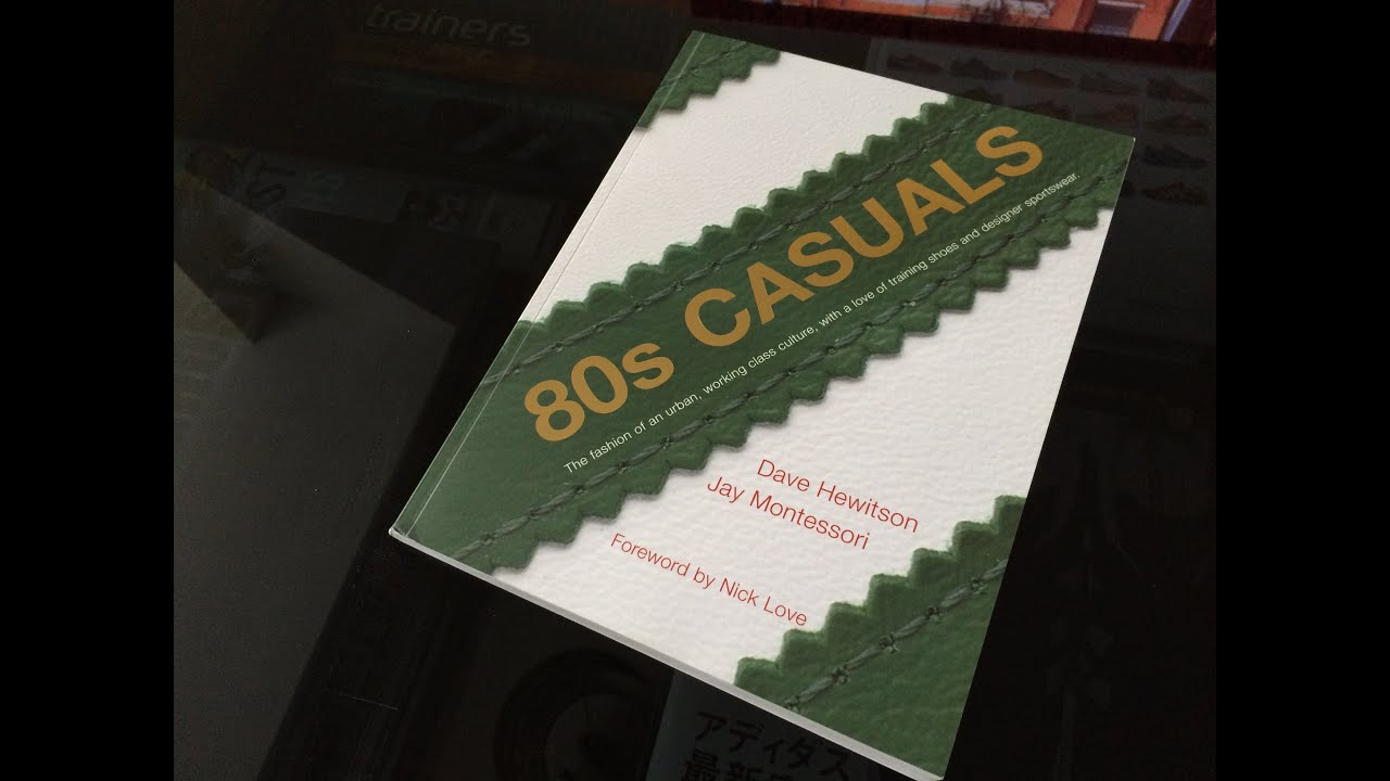 Coffee table chronicles 80s Casuals book overview