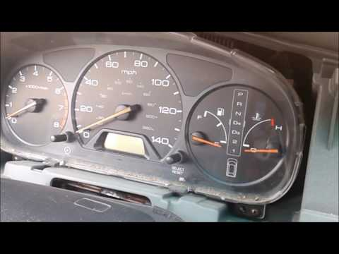 99-04 Honda Odyssey Clock And Odometer Cluster Bulb Replacement Part1