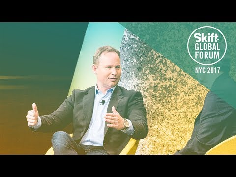 Expedia, Inc. CEO Mark Okerstrom at Skift Global Forum 2017
