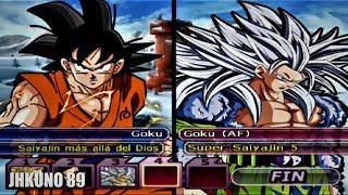 GOKU SUPER VS GOKU Z, GT Y AF   Dragon Ball Z Budokai Tenkaichi 3   EPIC BATTLE