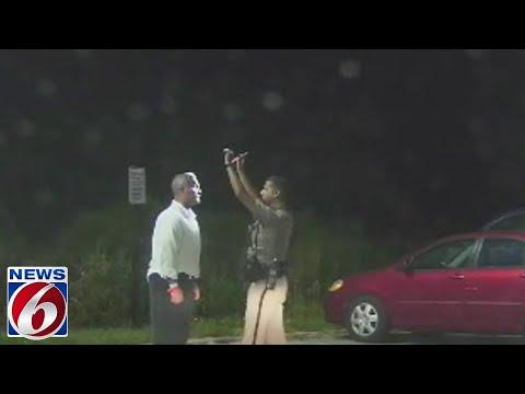 Dash camera footage shows officer's DUI arrest