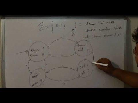 L4 Automata Theory, Thinking to make a DFA, Tricks for making DFA hindi