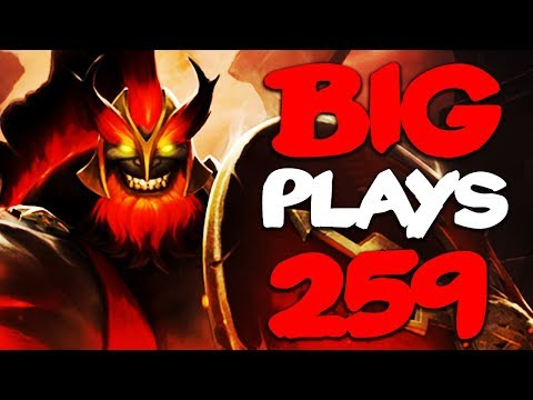 Dota 2 - Big Plays Moments - Ep. 259 (ft. New Hero Mars) thumbnail