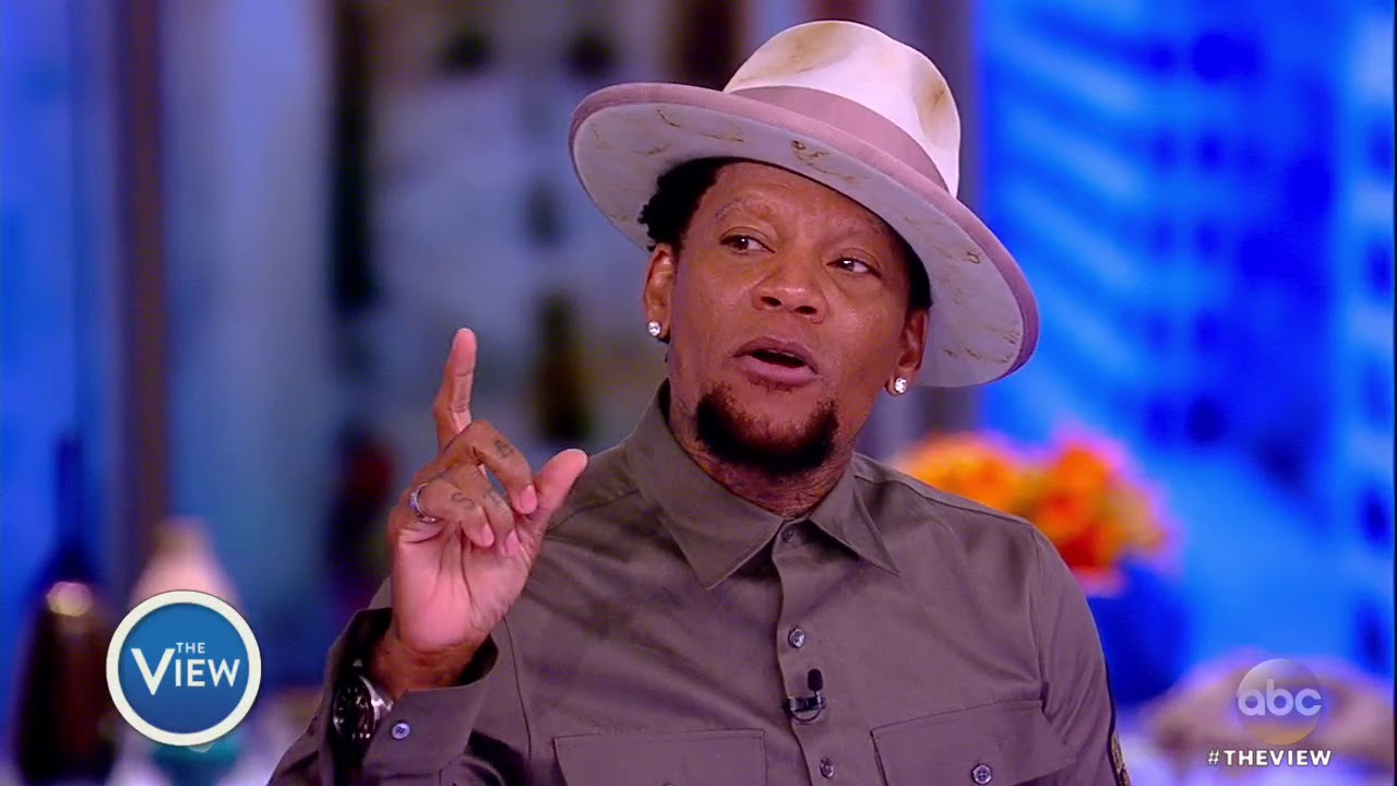 DL Hughley: This Brother Was Speaking Straight FIRE!!!!!