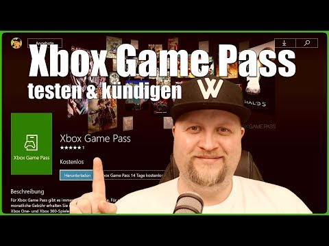 Xbox Game Pass testen & kündigen XboxOne Tutorial